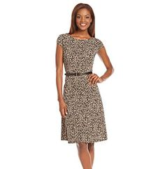 Product: Anne Klein® Printed Swing Dress