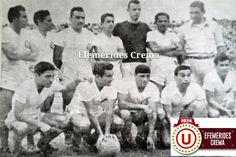 14/09/1952 @Universitario vence 2-1 a Alianza en el Estadio Nacional con goles de 'Toto' Terry y Navarrete...