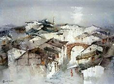 Lin Shaoling watercolor