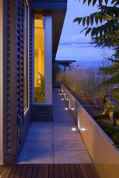 R DESIGN Landscape Architecture . In Floor Lighting modern-landscape