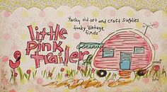 Paula's Palace of AltAred Art: VINTAGE CAMPER TAG TUTORIAL