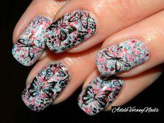 #adeleverweynails #inspiration #butterflynails #goldenrosepolish #classynails #lovenailart #repost #stamping #nailsoftheday #nailpolishaddict #stampingart  #nailartwow #dreamnails