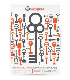 San Nicolás Llaves - Branding / Diseño de Logo by Mauro Lorenzo, via Behance