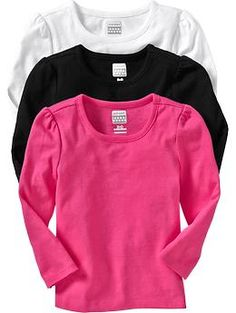 Long-Sleeve Tee 3-Packs for Baby | Old Navy
