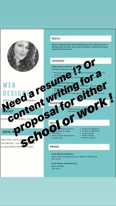 Resume Services, Copywriting, Marketing, Blog, Blogging