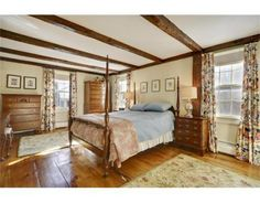 Master bedroom w/beams! c1770