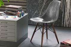 KRINK x Modernica Fiberglass Side-Shell Chair