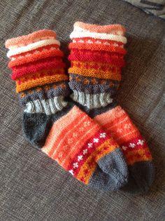 Regnbue sokker