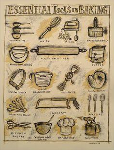 Essential Tools in Baking $25