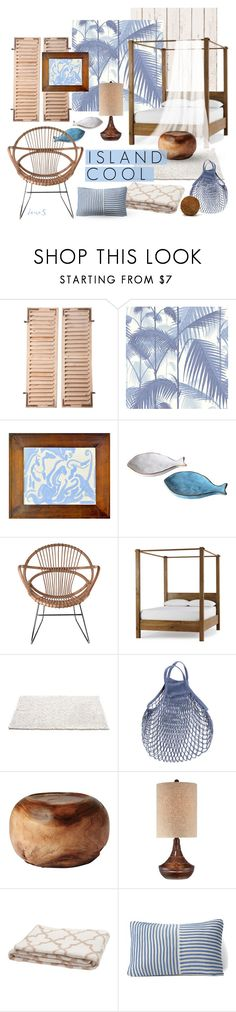 """Island Cool"" by deuxs ❤ liked on Polyvore featuring interior, interiors, interior design, home, home decor, interior decorating, Cole & Son, Pols Potten, Serena & Lily and in2green"