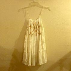 UO Ecote mini dress Boho printed mini dress with side ties. No holes or stains. Ecote Dresses Mini