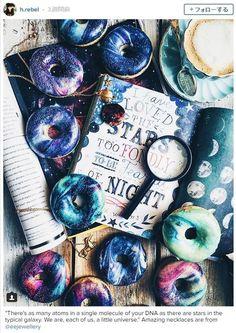 ドーナツなのに宇宙が広がってるぅぅうう!!! Instagramで話題沸騰中の「ギャラクシー・ドーナツ」がめちゃめちゃ銀河系です♪ | Pouch[ポーチ]