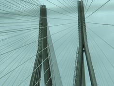 the worli sea link!  mumbai ;)