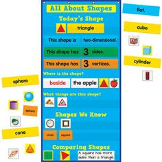 All About Shapes Pocket Chart™