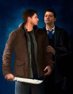With you by ~Adangi - Dean Winchester and Castiel, Supenatural