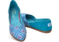 Algiers Blue Women's Jutti Flats hero