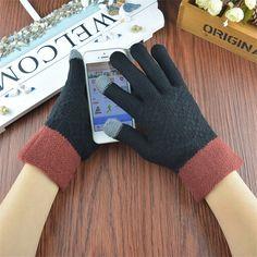 Warm cozy gloves