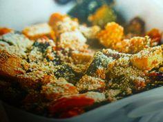 tofu al forno - gratinato con verdure