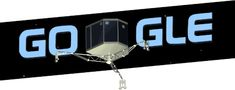 Google Doodle celebrating the Philae spacecraft making the first landing on a comet