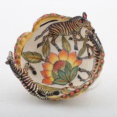 Ardmore Ceramics Zebra Bowl