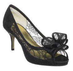 "Martinez Valero ""Ursula"" Lace Pumps in black (Valentino knockoffs)"