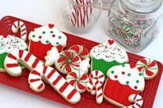 Ideias para decorar biscoitos Natal