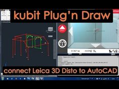 Plug'nDraw is an AutoCAD application which allows the Leica Disto to connect directly to AutoCAD. Use the Disto as your real world mouse. Poly Tanks, 3d Scanners, Leica, Autocad, Science And Technology, Plugs, Connection, Youtube, Building Information Modeling