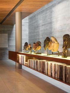 Gallery of Ramp House / Studio - Marcio Kogan + Renata Furlanetto - 44 Studios Architecture, Interior Architecture, Studio Mk27, Home Studio, Colorful Interiors, Furniture Design, Interior Decorating, Sweet Home, New Homes