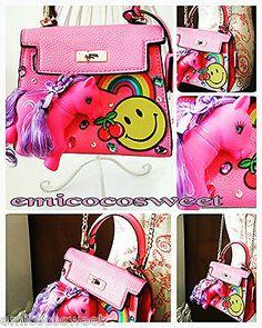 Mini Cute Kwaii Pony Unicorn Bag,My Little Pony bag,Fun Kitsch Bag Novelty Gift