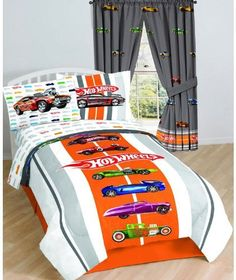 Hot Wheels Twin Sheet Set by Mattel, http://www.amazon.com/dp/B004GZGWYS/ref=cm_sw_r_pi_dp_YRp1pb1518256
