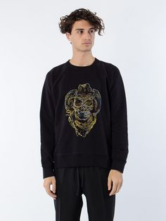 Our Legacy 50´s Great Sweat Neon Skull