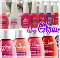 Coleção Glam - Colorama