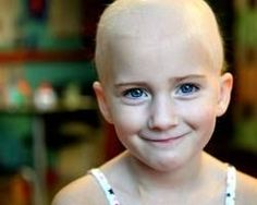 Children with cancer. Repin if you think she's beautiful...:
