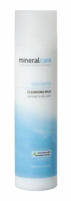Een zachte reinigingsmilk speciaal voor de normaal tot droge huid. Dode Zeemineralen, Polymarine extract en Bernagie olie beschermen de vochtbalans van de huid. Voor een dagelijkse reiniging van de huid kiest u cleansing milk van Elements Face.