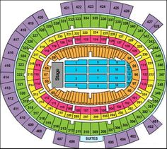 Madison square garden seating chart detailed seats rows and sections