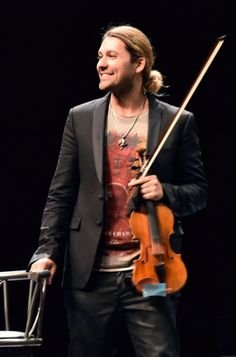 Stargeiger David Garrett ist am Freitagabend im Mannheimer Rosengarten aufgetreten.
