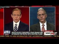 Trey Gowdy Demolishes Obama and Obamacare in 5 Minutes! now telling us losing your job or work hours is GOOD David Leeper   February 9 2014