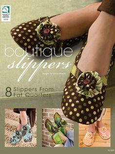 8 different slipper patterns