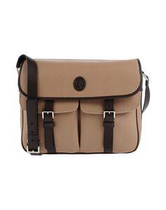 TRUSSARDI Across-body bag. #trussardi #bags #polyester #leather #satchel #shoulder bags #pvc #hand bags #cotton #