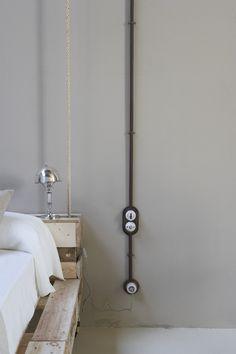 Aufputzschalter Serie GARBY ~ Einbaubeispiel ~ Image Title ~ Example of installation