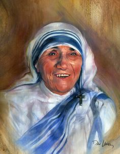 Mother Teresa........beatified by Pope John Paul II and rightly so.