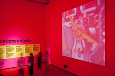 DO NOTHING » Archive » Richard Rogers RA: Inside Out Royal Academy Of Arts, Inside Out, Archive, Neon Signs, Design