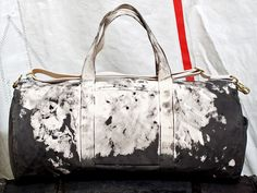 Rogues Gallery Inked canvas duffel