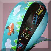 Toy Themed Printed Satin Ribbons