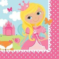 Ver detalles de Servilletas Princesa de cuento (20)