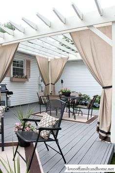 Back Deck Decorating Ideas