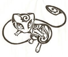 Mew, would be a cool tattoo