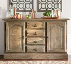 Linden Buffet...redo bedroom furniture in same finish