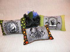 Halloween Ornamental Mini Pillows Set of by joliefemmebydiana