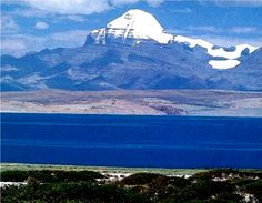 """....as spirits soar to great heights of Mount Kailash....""     Mount Kailash & lake Mansarovar, Tibet"